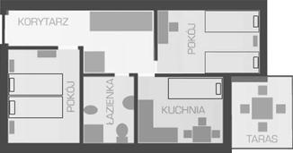 plan apartamentu nr2i4